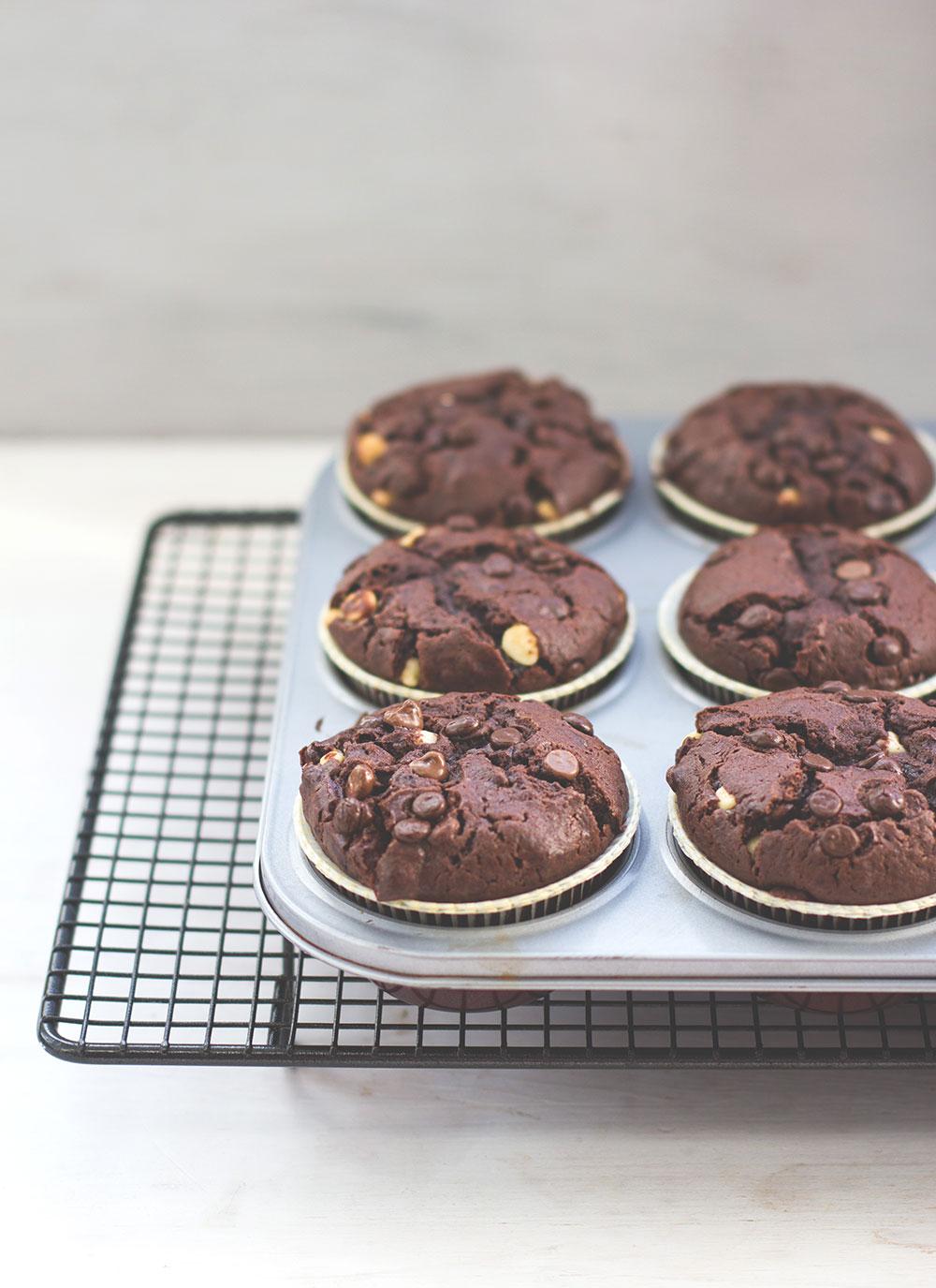 Rezept fur schoko muffins mit ol