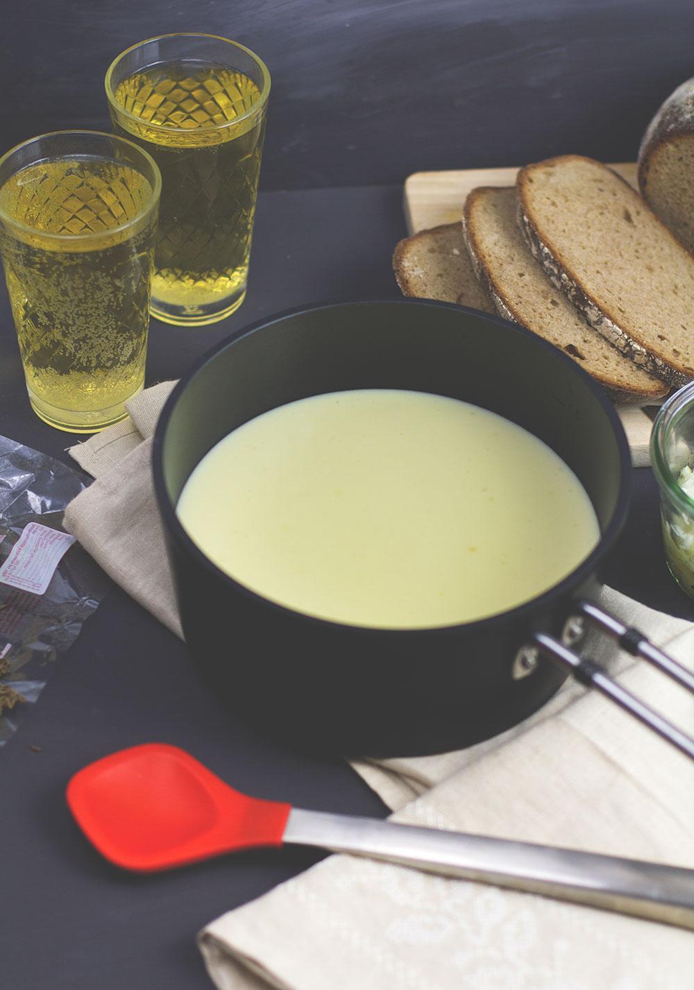 Rezept für hessischen Kochkäse mit Musik von moeyskitchen.com