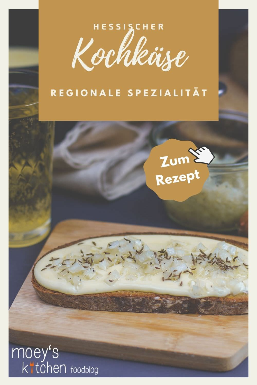 Rezept für hessischen Kochkäse mit Musik | regionale Spezialität ohne Schmelzkäse zubereitet | moeyskitchen.com #kochkäse #mitmusik #hessisch #hessischerezepte #heimatkochen #regionaleküche #brotaufstrich #käse #käsebrot #foodblog #rezept