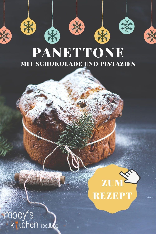 Rezept für Schokoladen-Pistazien-Panettone | Panettone ohne Trockenfrüchte | der italienische Weihnachtsklassiker | moeyskitchen.com #panettone #weihnachten #weihnachtsbrauch #weihnachtstradition #weihnachtsgebäck #italienisch #backen #weihnachtsbäckerei #rezept #foodblog #schokolade