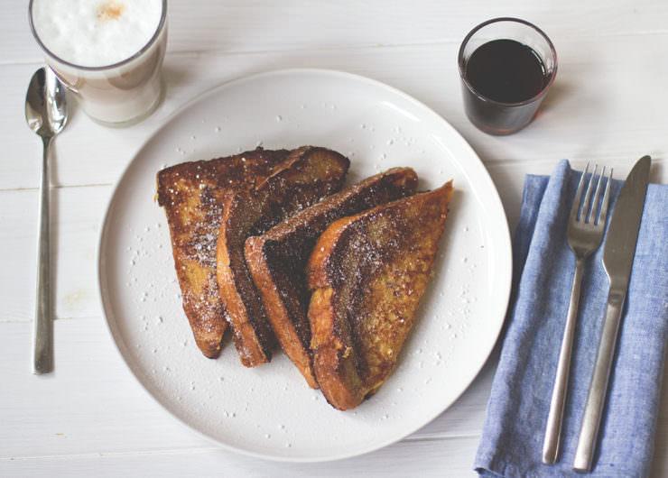 Rezept für klassisches French Toast (Arme Ritter) von moeyskitchen.com