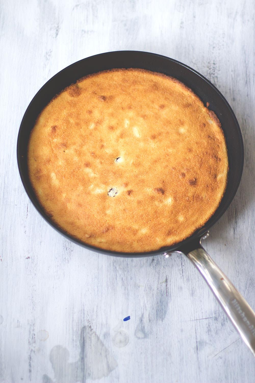Rezept für Ofenschmarrn mit Amarena-Kirschen von moeyskitchen.com