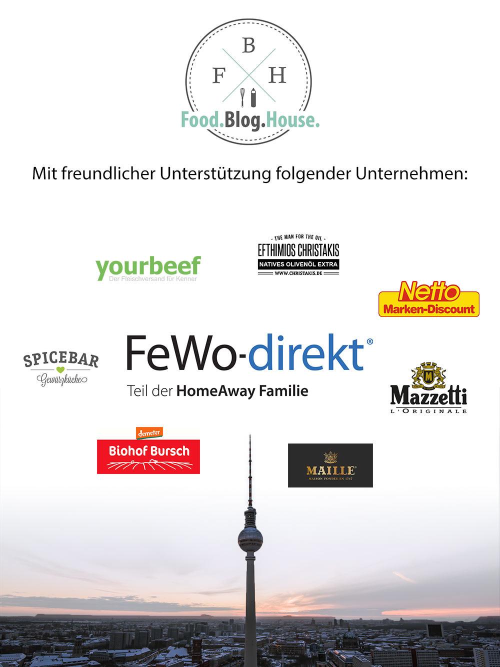 Food.Blog.House Sponsoren fewo-direkt yourbeef maille mazzetti netto marken-discount biohof bursch spicebar