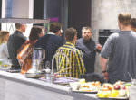 AEG Tasteology Bonus-Episode Perfecting the Classics - Caesar Salad Blogevent auf der Living Kitchen