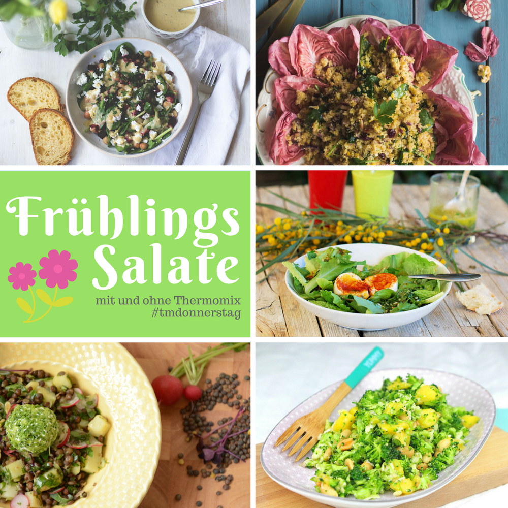 Die Rezepte zum Thema Frühlingssalate beim TM-Donnerstag