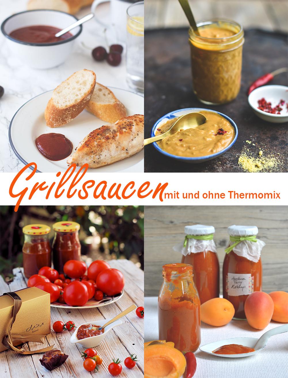 Rezept für Kirsch-BBQ-Ketchup aus dem Thermomix - fruchtiger Ketchup als Grillsauce | moeyskitchen.com