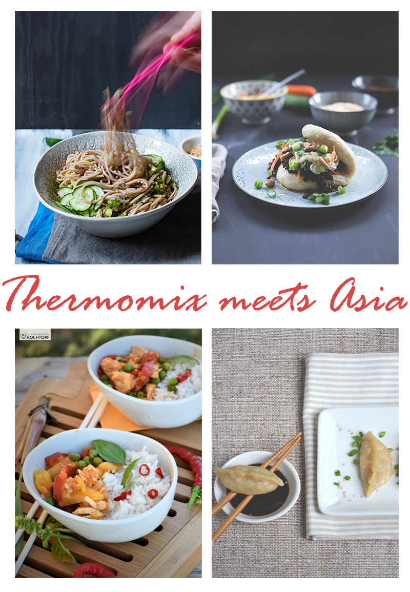 Collage Thermomix meets Asia - Thermomix-Donnerstag
