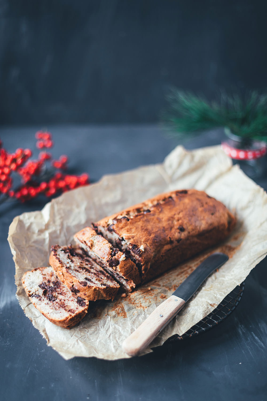 Chocolate Chip Bananenbrot | Rezept für Banana Bread | moeyskitchen.com #bananenbrot #bananabread #chocolatechip #bananen #kuchen #resteverwertung #foodblogger #rezepte