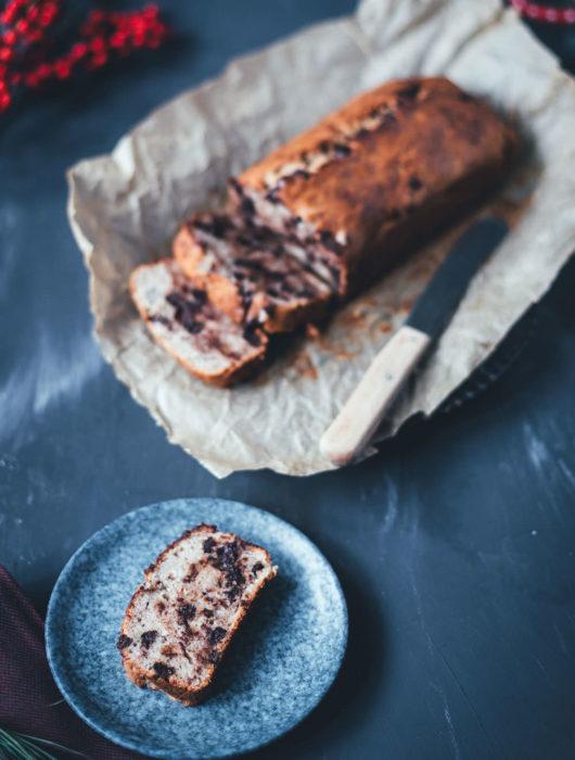 Chocolate Chip Bananenbrot   Rezept für Banana Bread   moeyskitchen.com #bananenbrot #bananabread #chocolatechip #bananen #kuchen #resteverwertung #foodblogger #rezepte