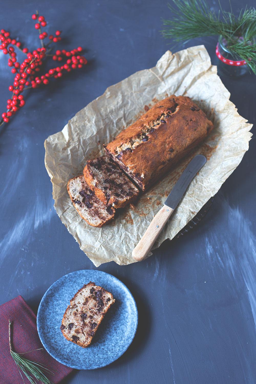 Rezept für Chocolate Chip Bananenbrot | moeyskitchen.com