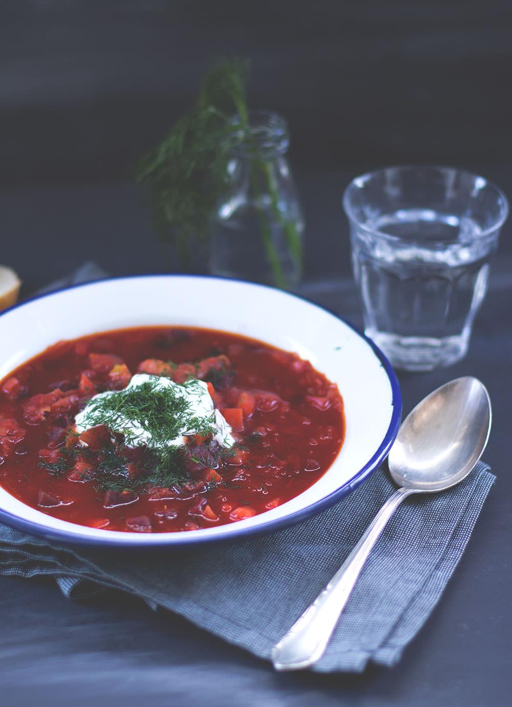 Meine 10 liebsten Rezepte im Blog - Borschtsch aus dem Thermomix von moeyskitchen.com