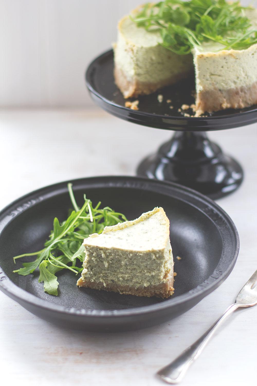 Meine 10 liebsten Rezepte im Blog - Herzhafter Cheesecake von moeyskitchen.com