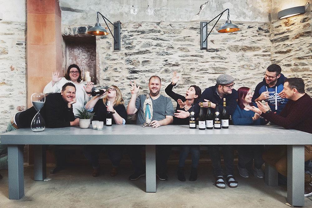Food.Blog.Church 2018 - die Reisegruppe