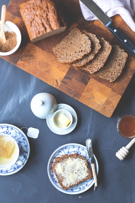 Rezept für Honigkuchen / holländisches Frühstücksbrot | moeyskitchen.com