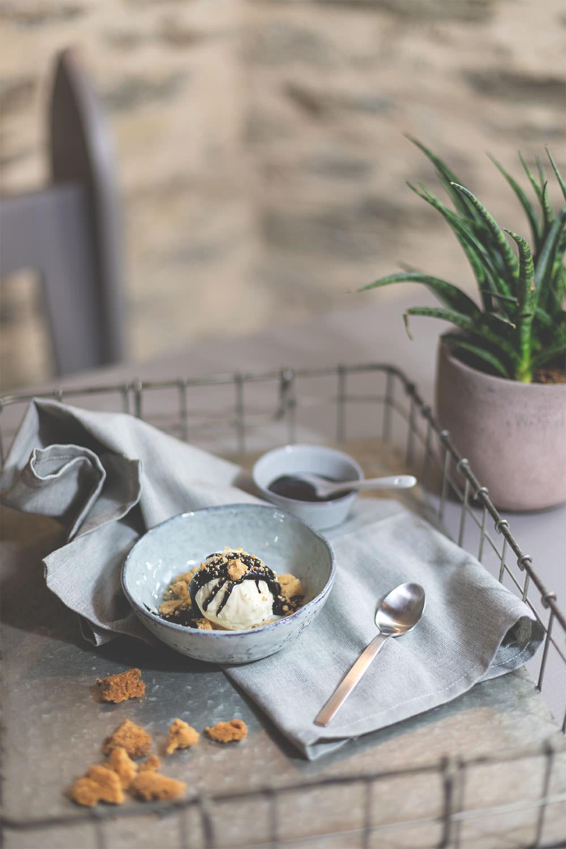 Food.Blog.Church 2018 #10gängefüreinhalleluja - Ricotta-Eis als kaltes Dessert