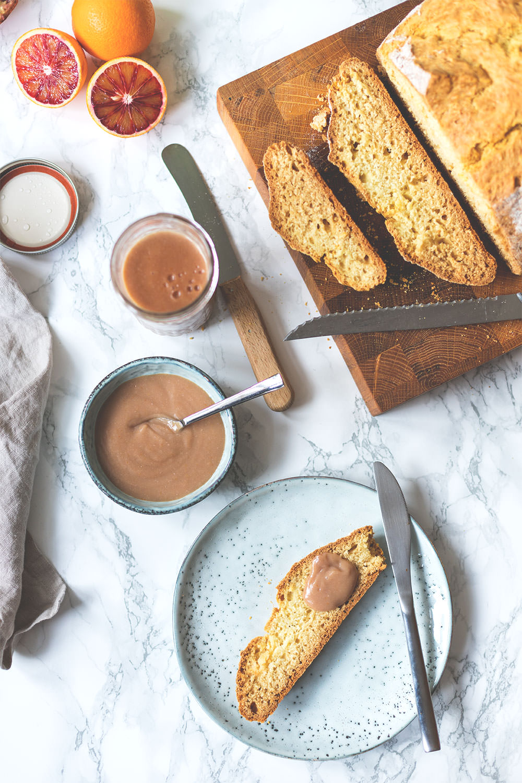 The Breakfast Club | British Breakfast | Rezepte für Soda Bread und Blood Orange Curd | moeyskitchen.com