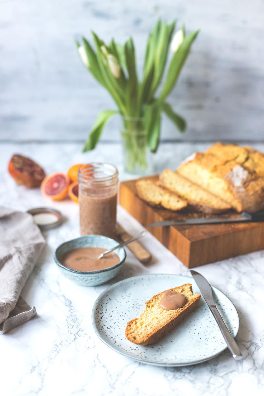 Sunday Breakfast Club | British Breakfast | Soda Bread & Blood Orange Curd
