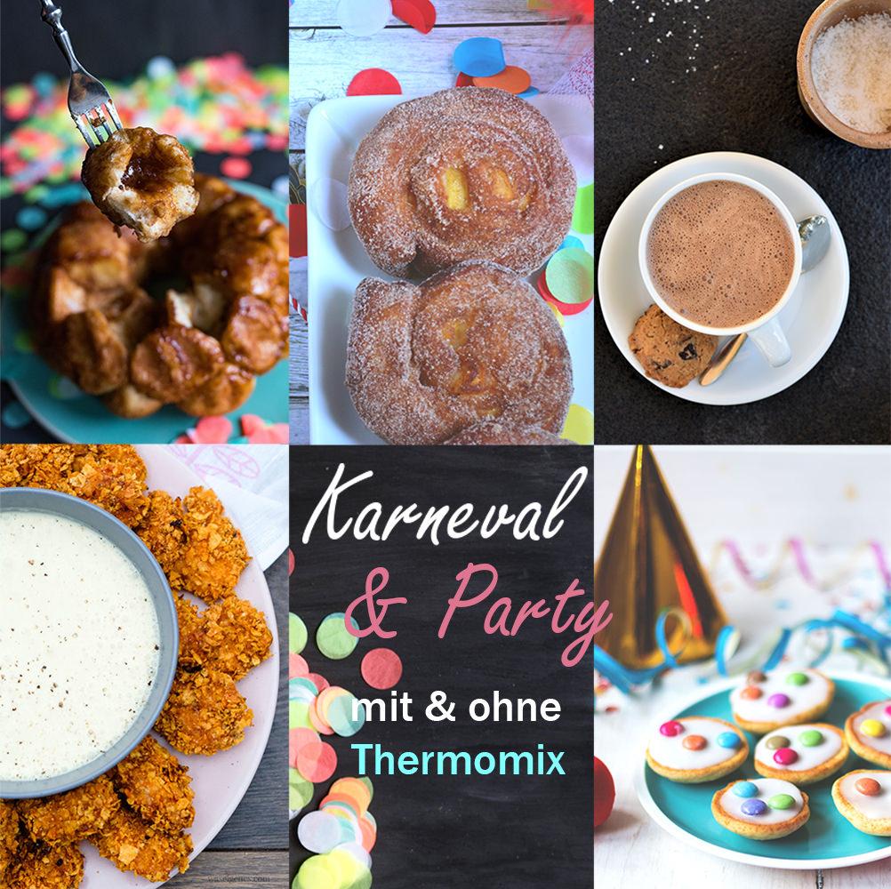 Thermomix-Donnerstag Karneval & Party: Rezept für Mini-Amerikaner | moeyskitchen.com