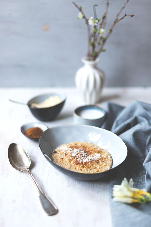 The Sunday Breakfast Club | Schnelles Kokos-Porridge