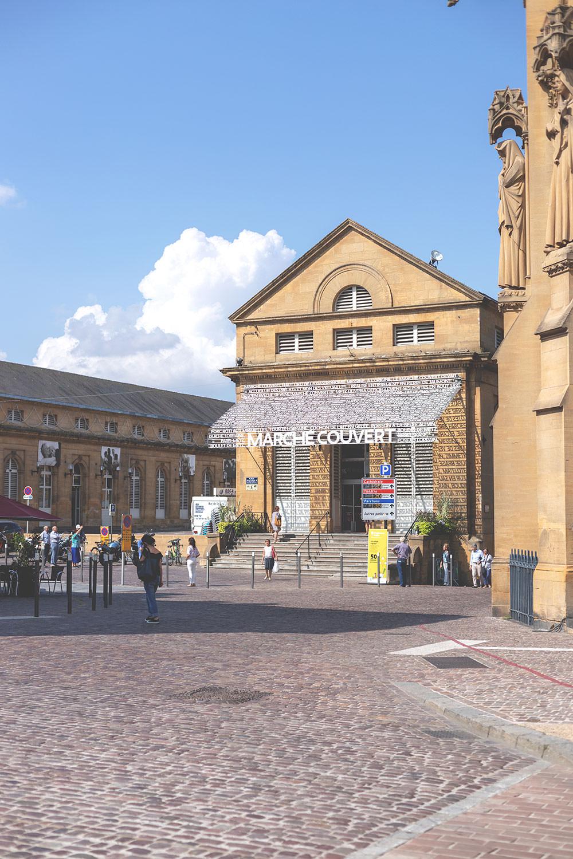 Tagesausflug nach Metz und Rezept für Quiche Lorraine (Lothringer Speckkuchen) | Markthalle von Metz - Marché Couvert | moeyskitchen.com