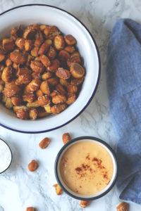 Pretzel Bites mit Käsesauce – 10 Jahre Kleiner Kuriositätenladen