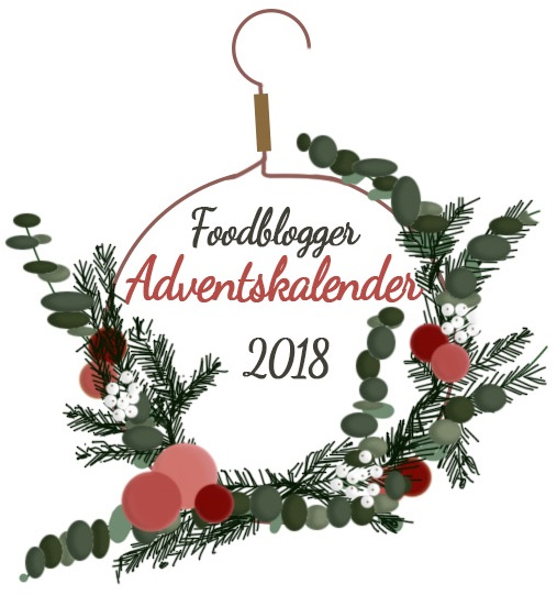 Das Food Blogger Adventskalender Logo 2018