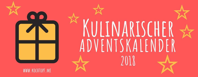Kulinarischer Adventskalender 2018 Banner
