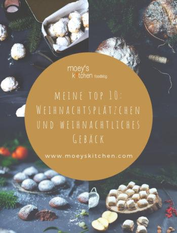 Meine TOP 10 Rezepte für Weihnachtsplätzchen und weihnachtliches Gebäck | Unkomplizierte Last Minute Rezepte | moeyskitchen.com #weihnachtsplätzchen #weihnachtsgebäck #weihnachtsbäckerei #weihnachten #cookies #kekse #rezepte #foodblogger