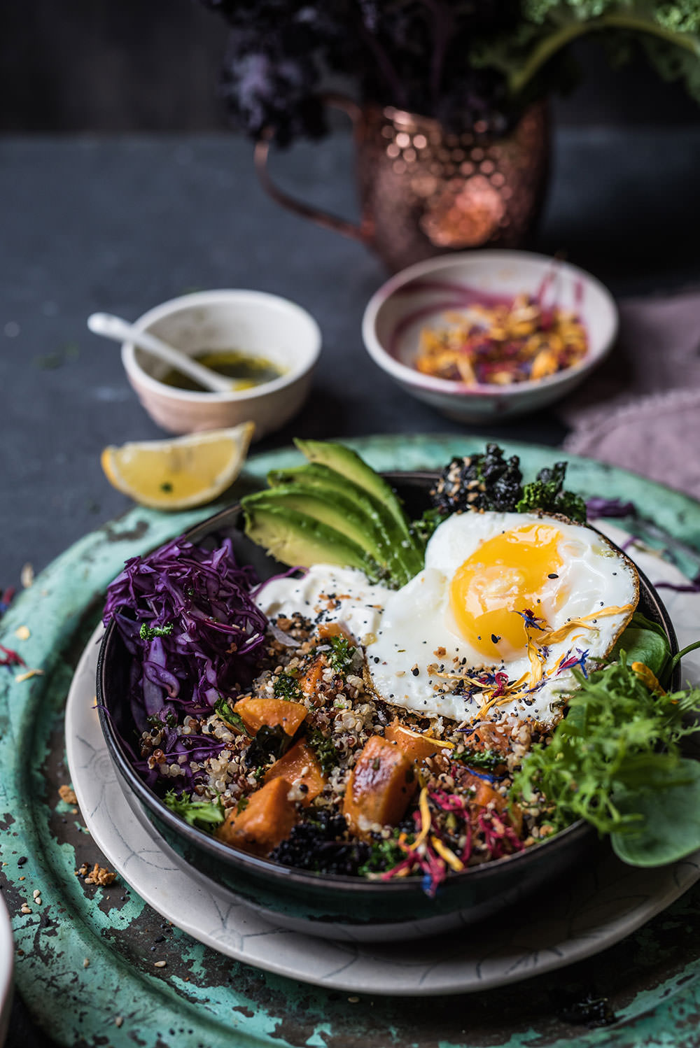 Fit Food Quinoa Bowl mit Ei von S-Küche | The Sunday Breakfast Club
