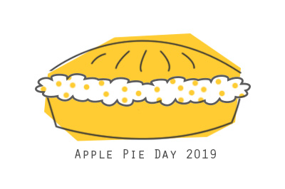 Logo Apple Pie Day 2019 von Inaisst.de