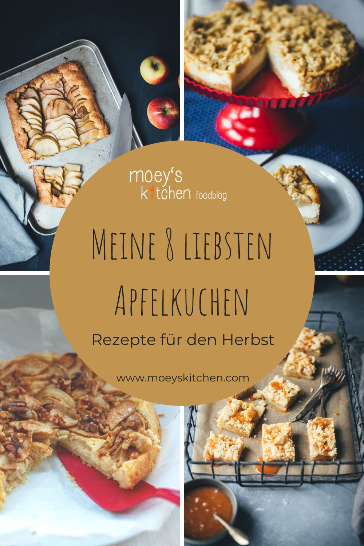 Meine 8 liebsten Apfelkuchen - Rezepte für den Herbst | Rezeptsammlung meiner Lieblingsrezepte für das Backen mit Äpfeln | moeyskitchen.com #rezeptsammlung #apfelkuchen #kuchen #kuchenrezepte #foodblogger #rezepte