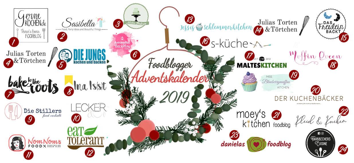 Foodblogger Adventskalender 2019