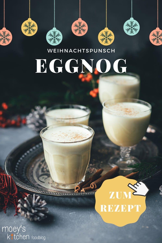 Rezept für warmen Eggnog | amerikanischer Eierpunsch, der hervorragend zu Weihnachten passt | Weihnachtspunsch ist mit oder ohne Alkohol möglich | zur Zubereitung im Topf oder Thermomix | moeyskitchen.com #rezepte #eggnog #eierpunsch #drink #heißgetränke #weihnachten #weihnachtszeit #foodbloger #foodblog #weihnachtsrezept #weihnachtspunsch #rezept #foodbloggeradventskalender