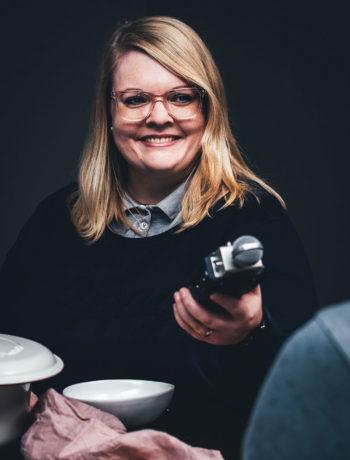 """Maja Nett für den Chefkoch Podcast """"Deckel auf"""""""