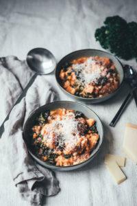 Ribollita – Toskanischer Eintopf mit Grünkohl und weißen Bohnen