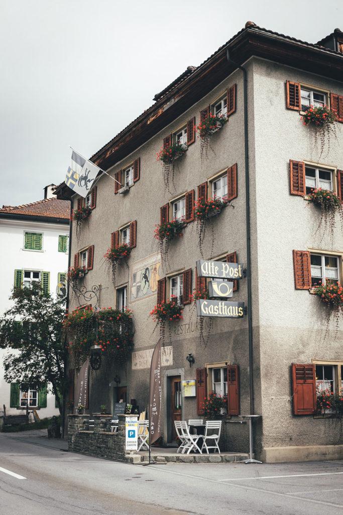 Gasthaus Alte Post in Zillis in der Schweiz | moeyskitchen.com #gasthaus #altepost #capuns #schweiz #reisebericht