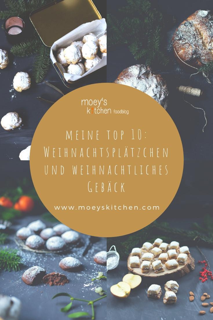 Meine Top 10 Weihnachtsplätzchen und weihnachtliches Gebäck | moeyskitchen.com