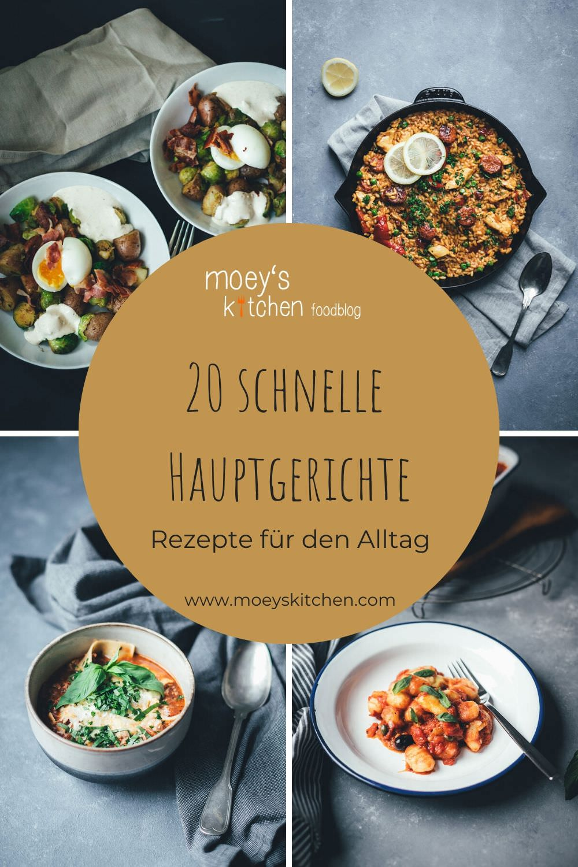 20 schnelle Hauptgerichte für den Alltag