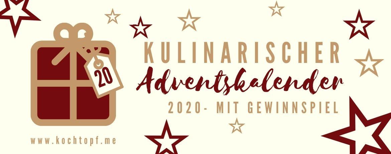 Kulinarischer Adventskalender 2020 - Türchen 20