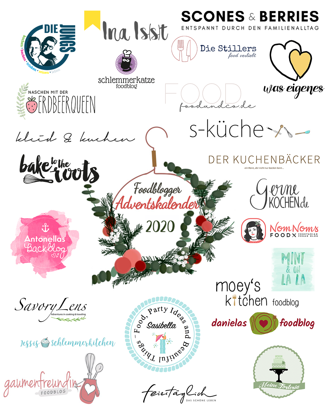 Food Blogger Adventskalender 2020