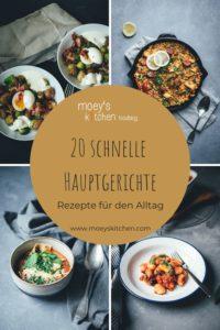Ideen für 20 schnelle Hauptgerichte - Ideensammlung