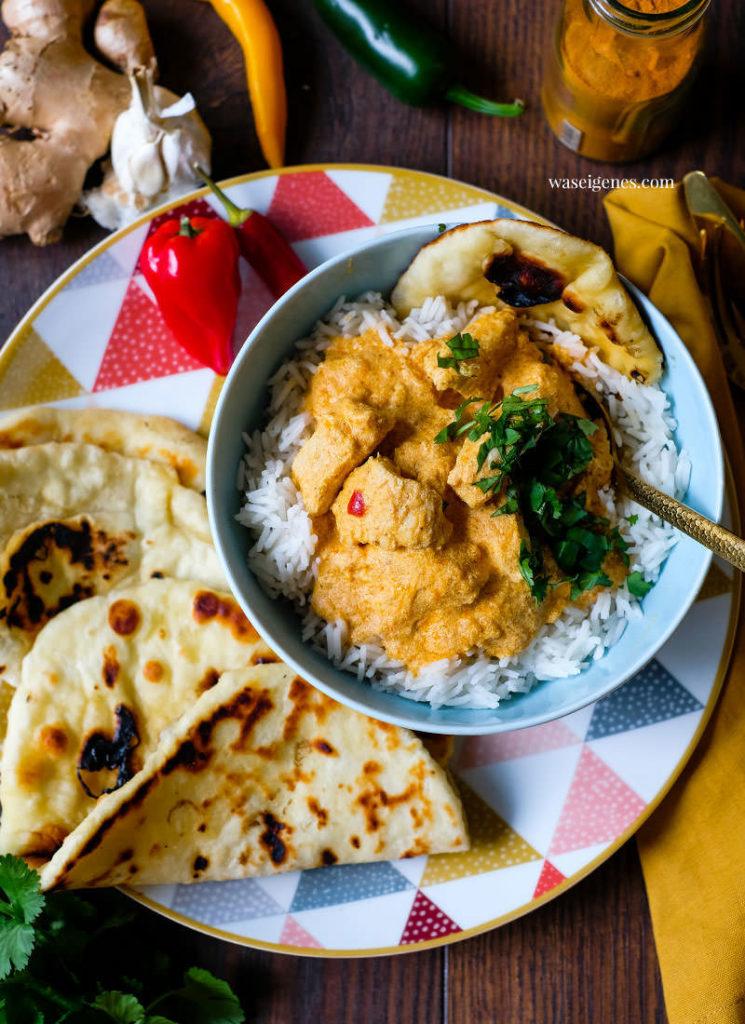 Bei Bine von was eigenes gibt es ein indisches Butter Chicken aus dem Thermomix.