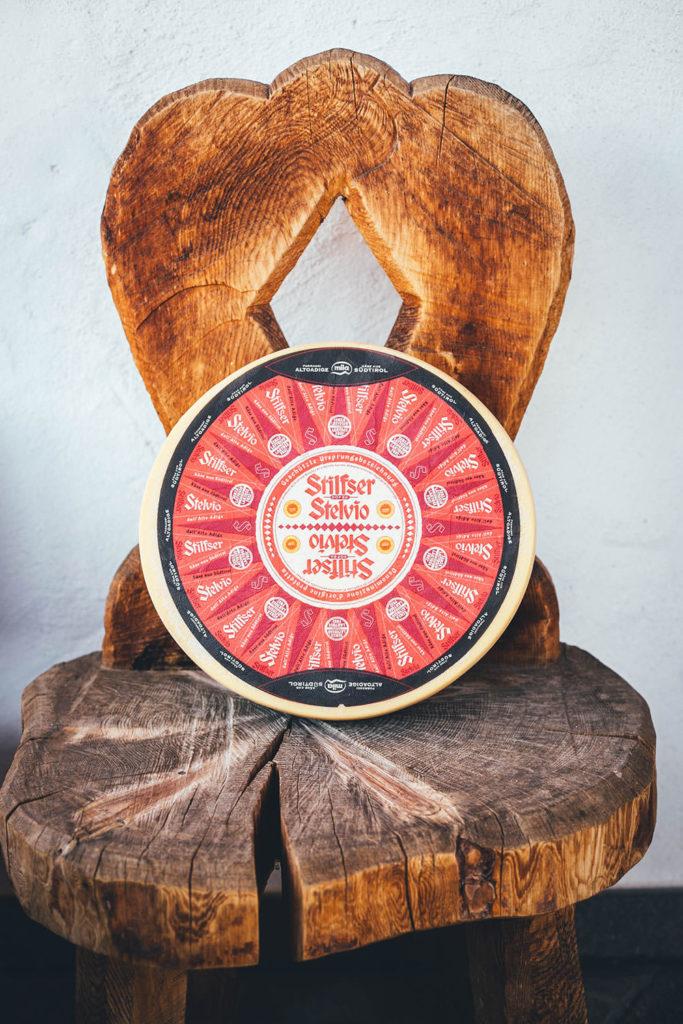 Der Stilfser g.U. Käse aus Südtirol - nur aus Milch von Bergbauernhöfen produziert