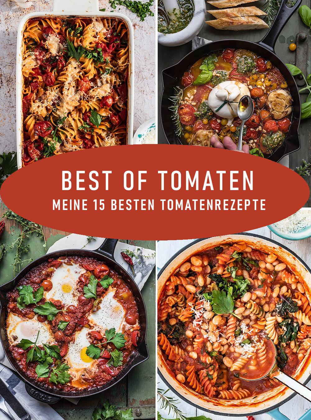 Die besten Tomatenrezepte von S-Küche